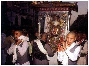 Sweta (white) Machhendranath Snan